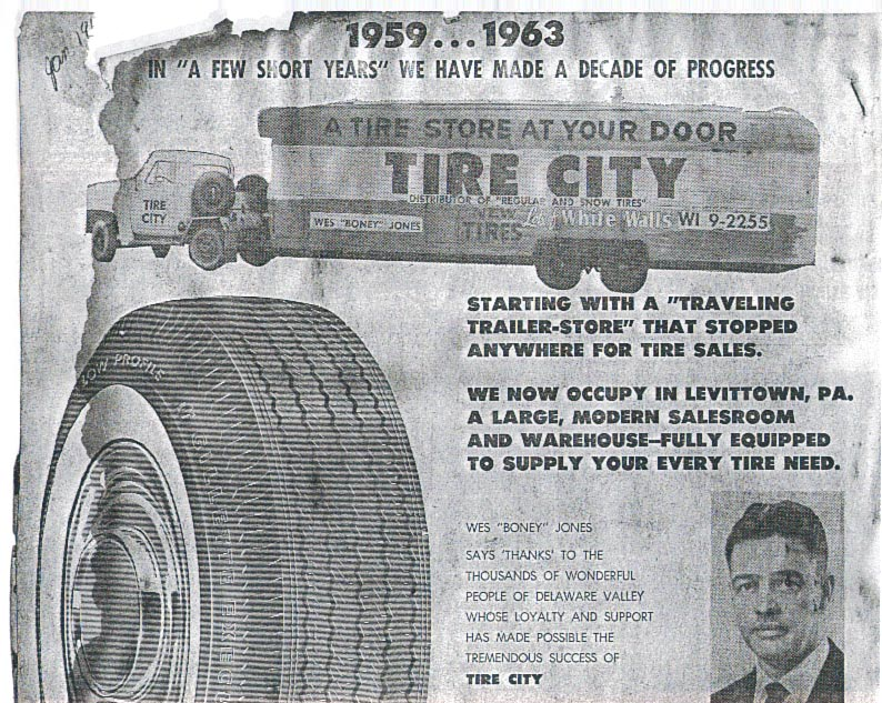 Tire City Ad